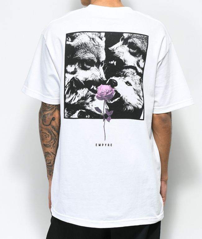 Empyre Lupi Rose White T-Shirt