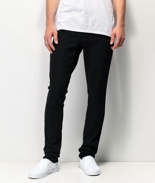 Empyre Recoil Black Super Skinny Jeans