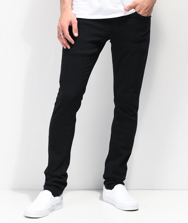 Empyre Recoil EXT Stretch Black Skinny Jeans