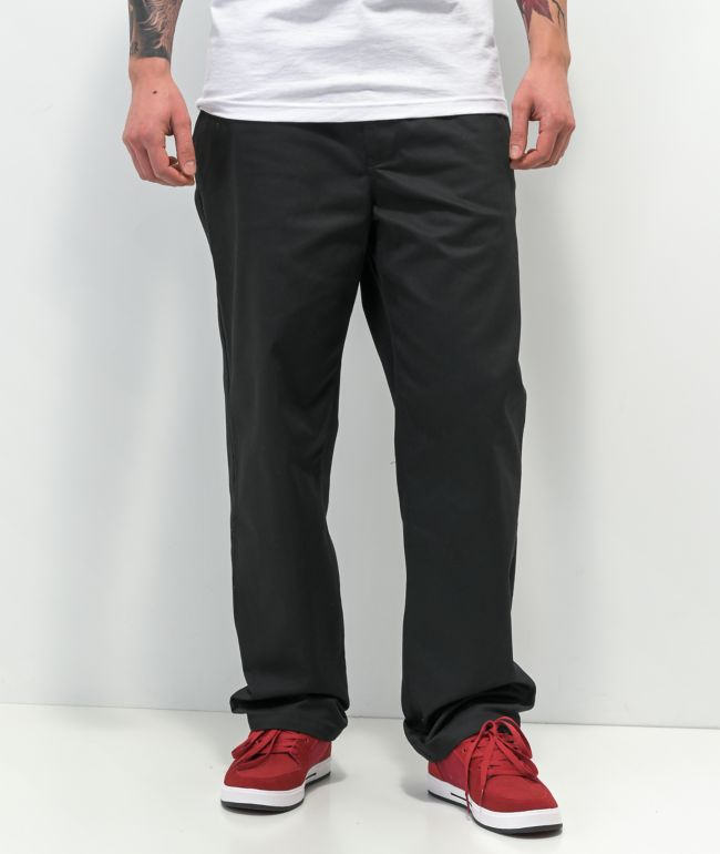 Empyre Sk8 Loose Fit Black Twill Pants