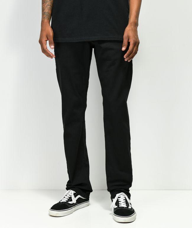 Empyre Skeletor Black Chino Pants