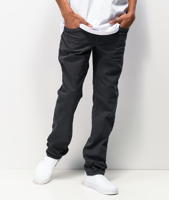 Empyre Skeletor Charcoal Grey Chino Pants