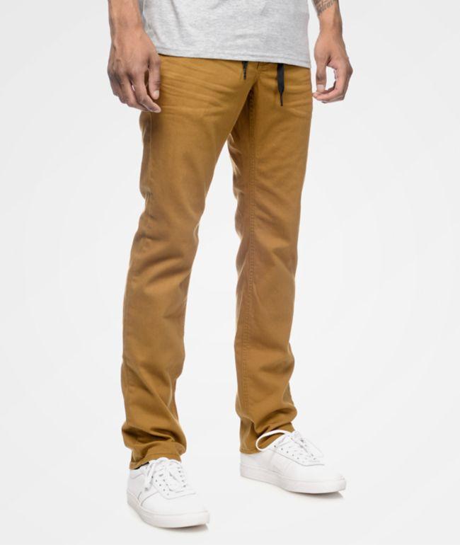 Empyre Skeletor pantalones ceñidos en color tabaco