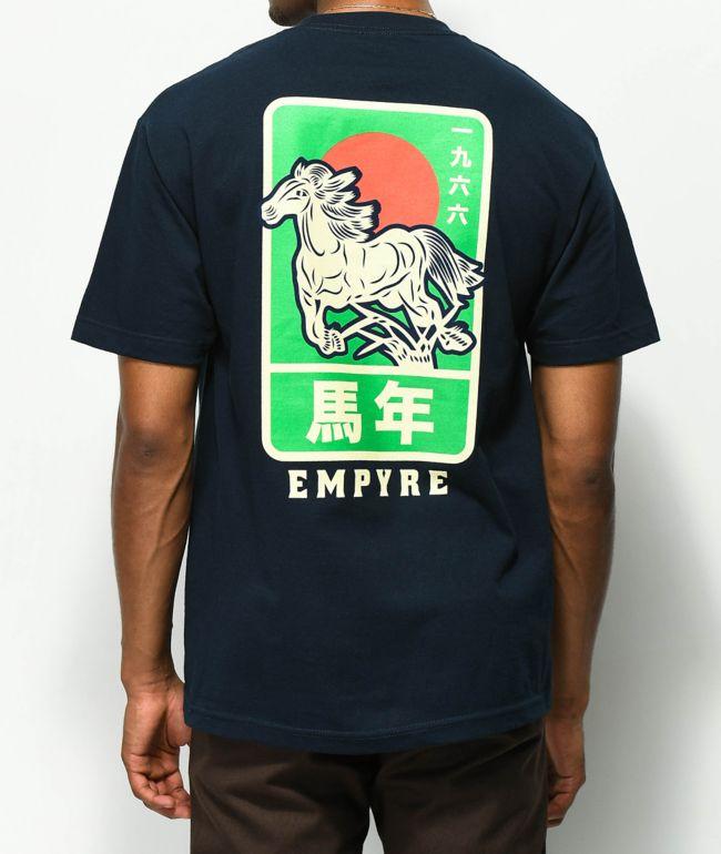 Empyre Stallion Navy T-Shirt