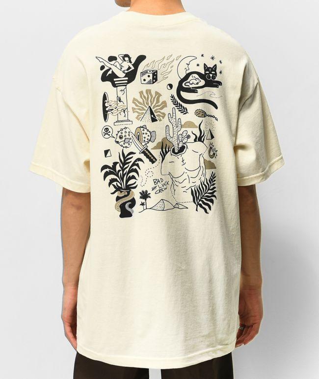 Empyre Time Warp Cream T-Shirt