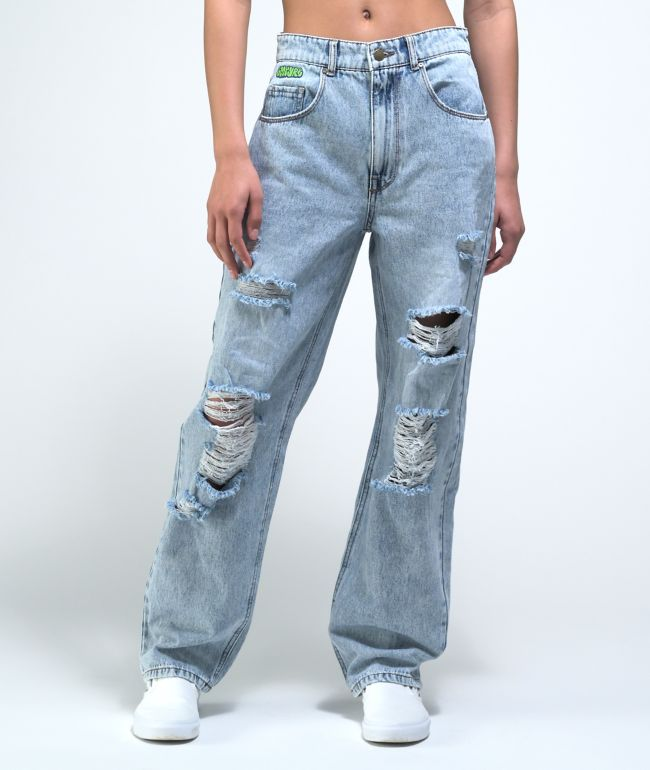 Empyre Tori Courtney Wash Skate Jeans