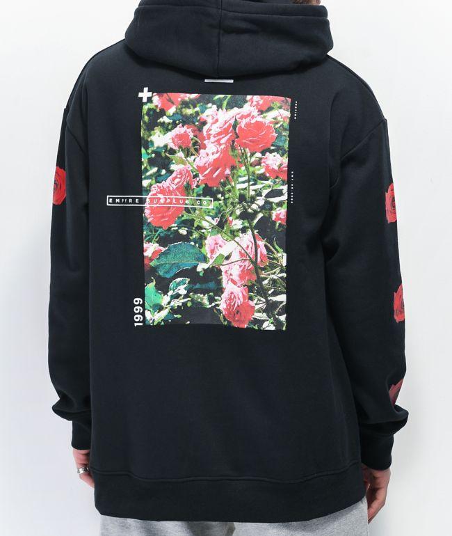 Empyre Vertigo Rose sudadera con capucha negra