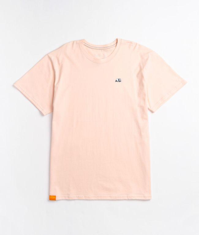 Enjoi Panda Patch Pink T-Shirt