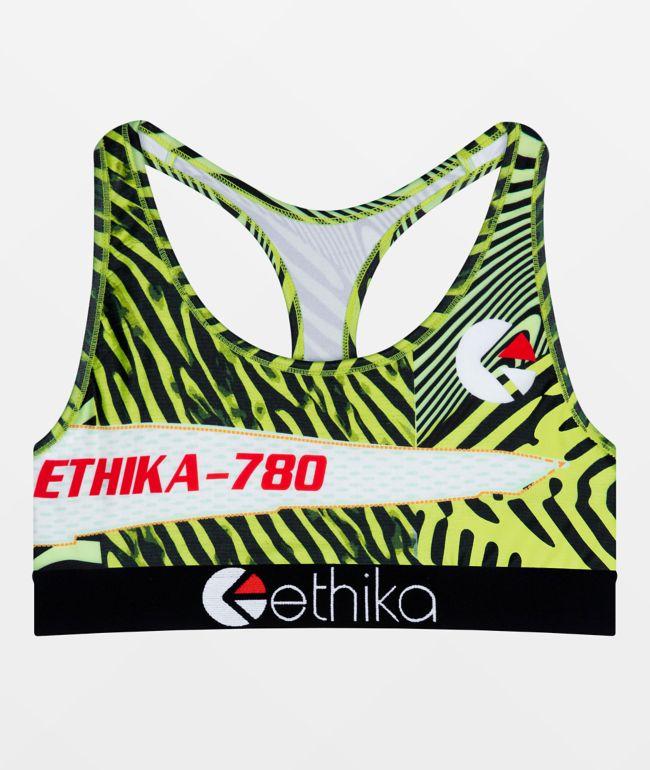 Ethika Ethezzy Green Sports Bra