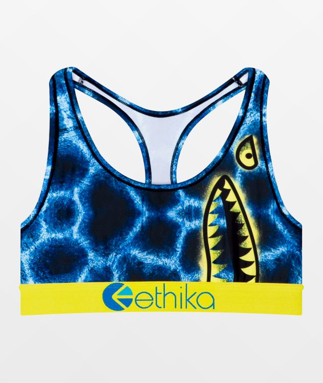 Ethika Iced Shark Sports Bra