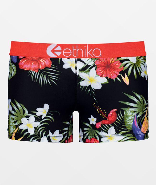 Ethika Tropical Sunset Boyshort Panty