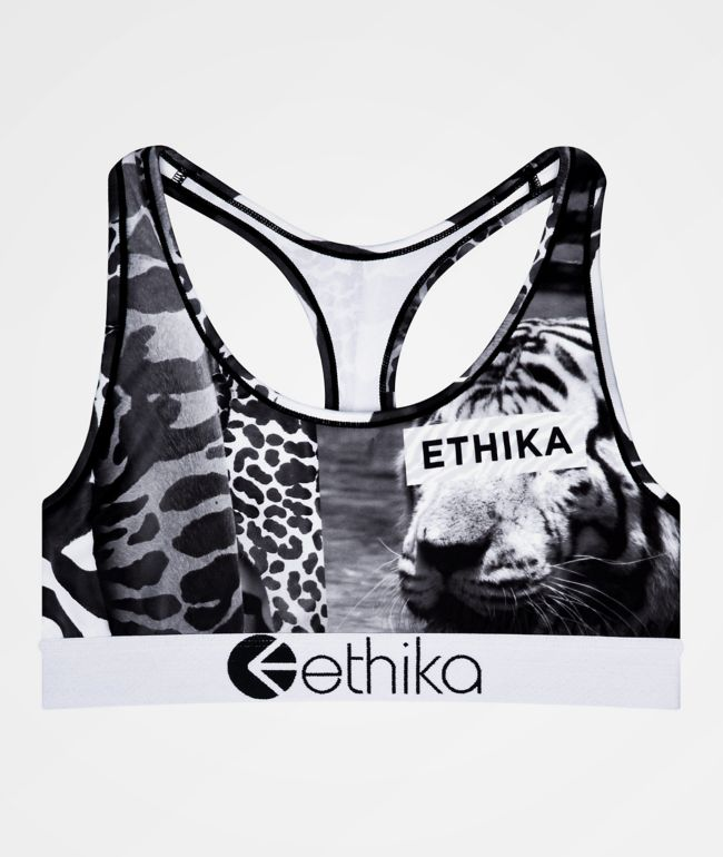 Ethika Wild And Vintage Sports Bra