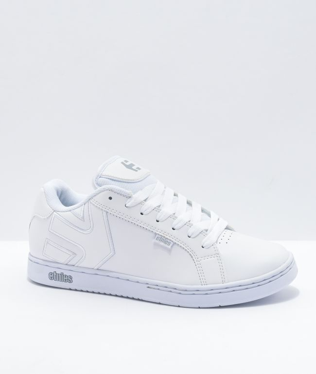 Etnies Fader White Skate Shoes