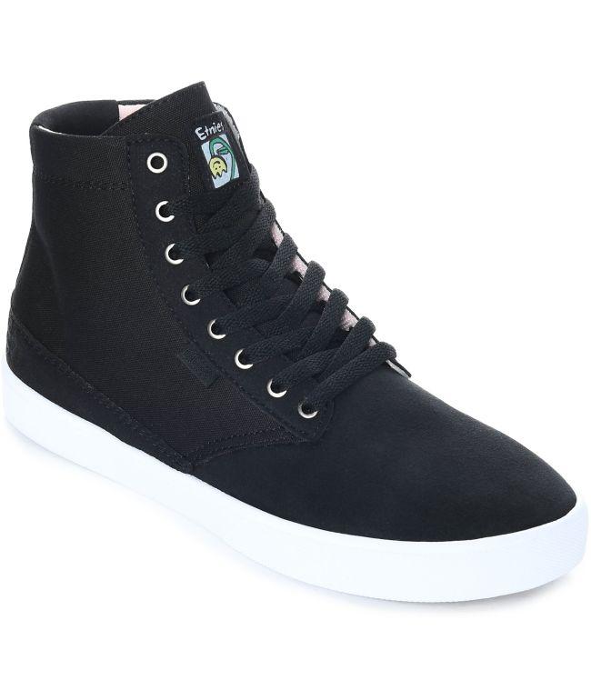 vegan high top skate shoes