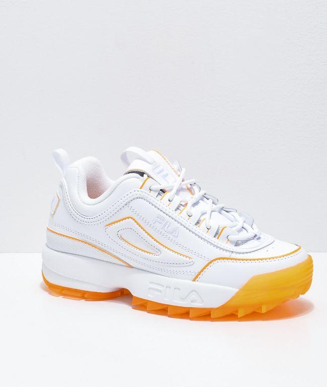 FILA Disruptor II Ice Orange Shoes | Zumiez