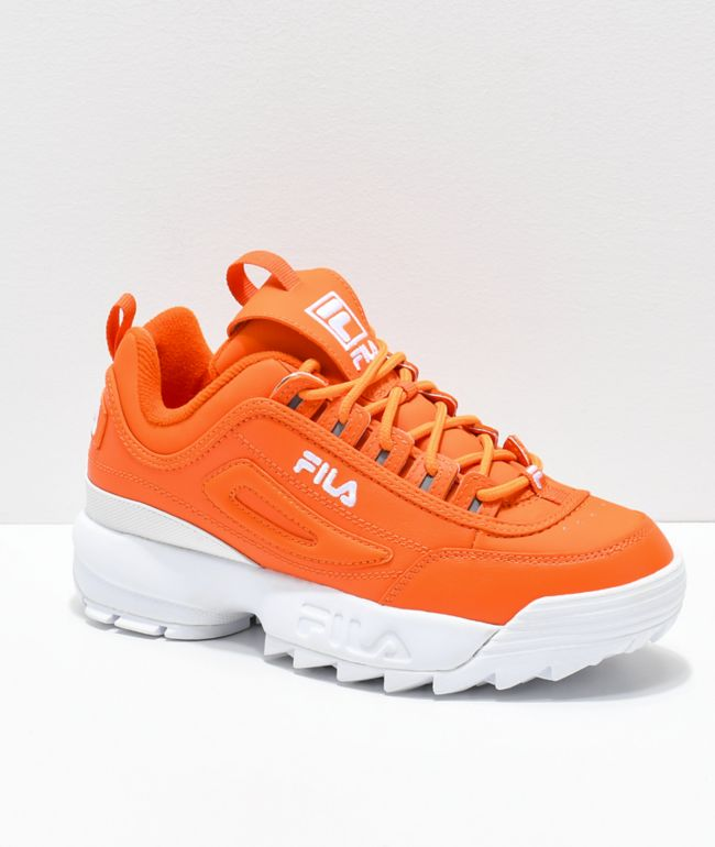 FILA Disruptor II zapatos anaranjados