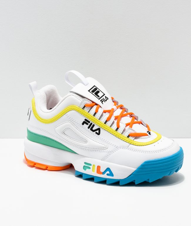basket fila disruptor Naranjani