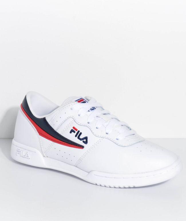 FILA Original Fitness White Shoes | Zumiez