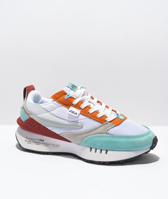 FILA Renno N Generation White & Lava Shoes