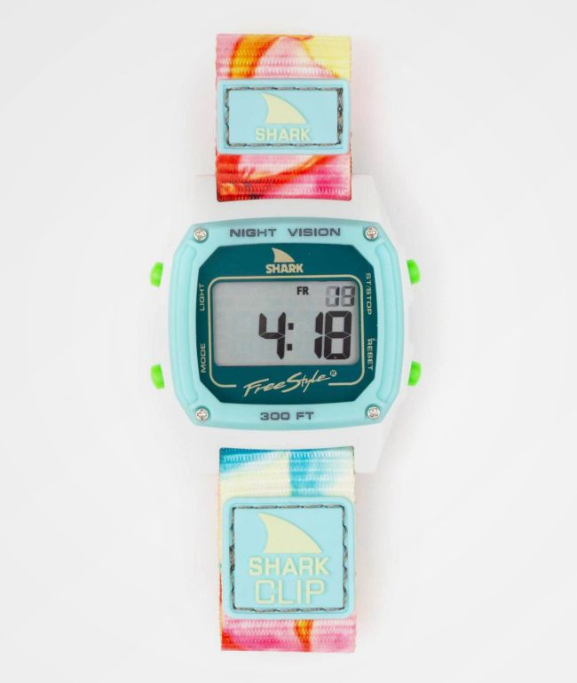 Freestyle Shark Classic Clip Flower Power Digital Watch