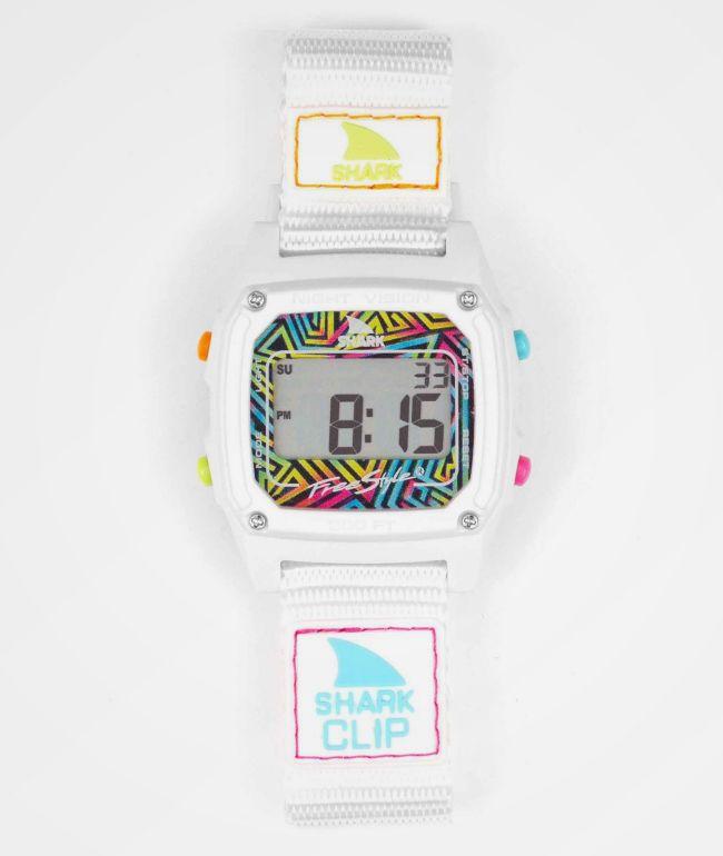 Freestyle Shark Classic Clip Neon & White Digital Watch