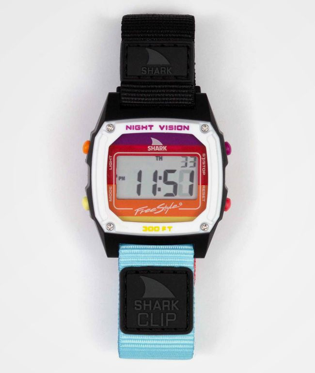 Freestyle Shark Classic Clip Rainbow Licorice Digital Watch