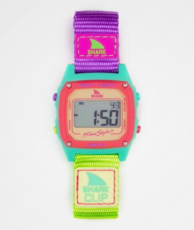 Freestyle Shark Classic Clip Sour Apple Digital Watch