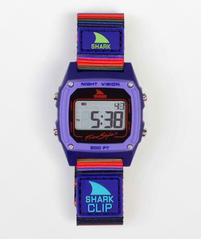 Freestyle Shark Classic Clip Ultraviolet Digital Watch