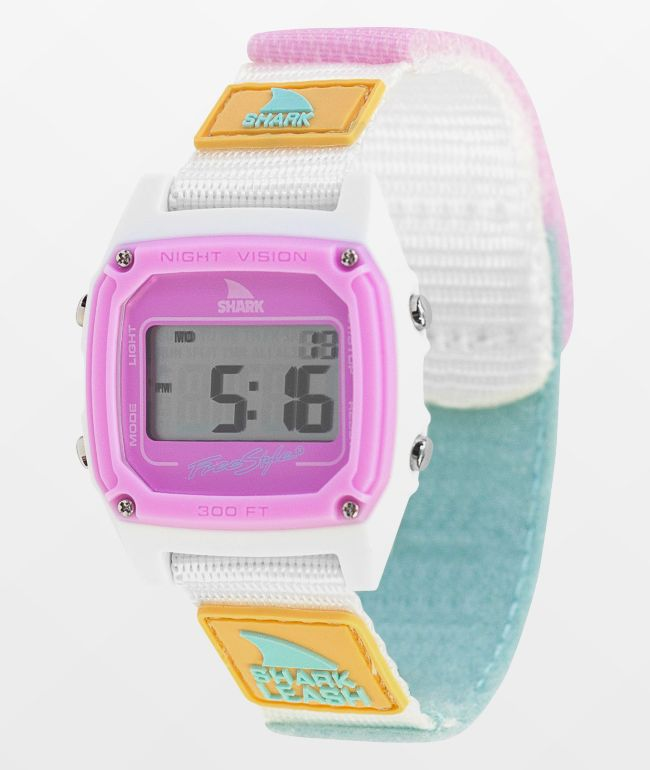 Freestyle Shark Classic Leash Blue Tie Dye Digital Watch