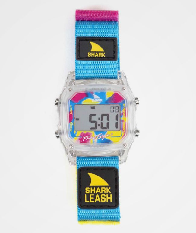 Freestyle Shark Classic Leash Clear & Multi Digital Watch