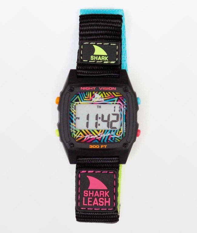 Freestyle Shark Classic Leash Neon Wave Digital Watch