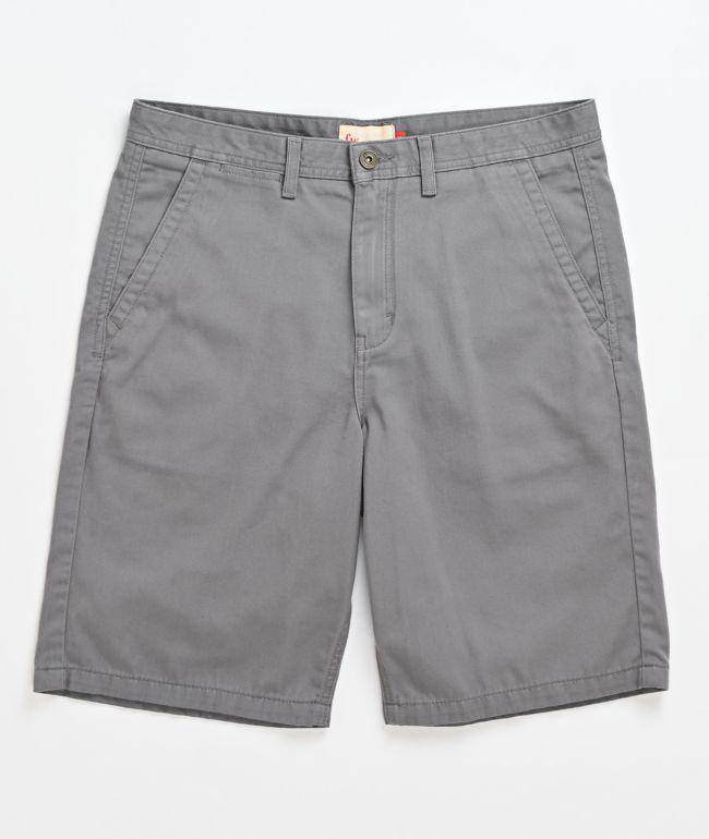 Freeworld Discord Grey Chino Shorts