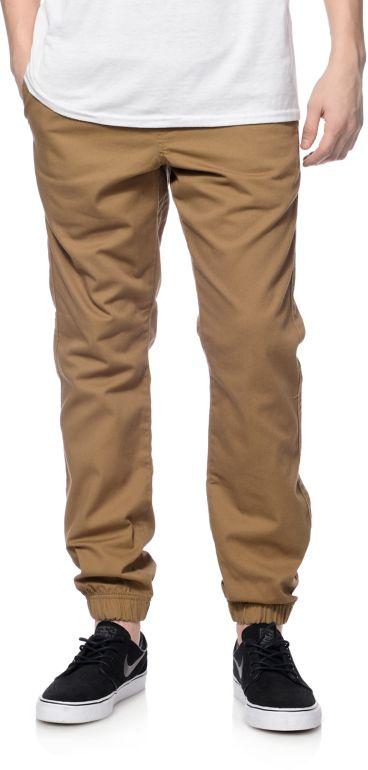 Freeworld Remy Dark Khaki Jogger Pants