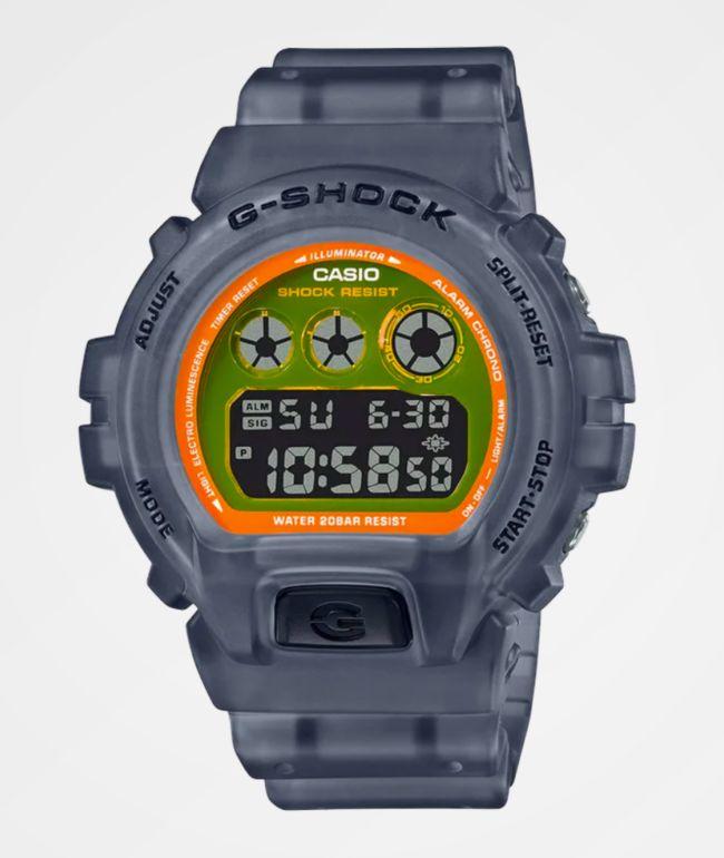 G-Shock DW6900LS-1 Translucent Black Digital Watch