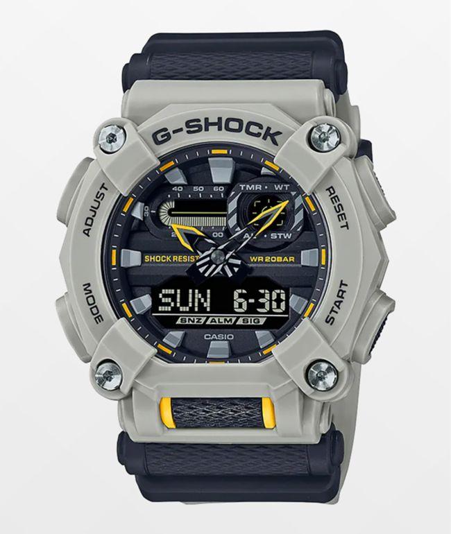 G-Shock GA900HC Black & Grey Digital & Analog Watch