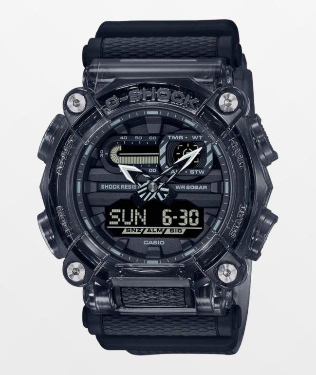 G-Shock GA900SKE-8A Transparent Grey Digital & Analog Watch