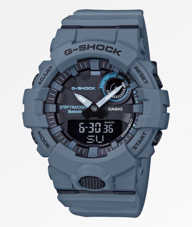G-Shock GBA800 Grey & Black Watch