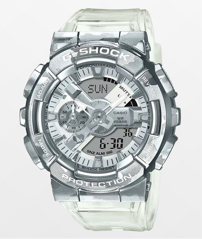 G-Shock GM110SCM-1A Clear Camo Digital Watch