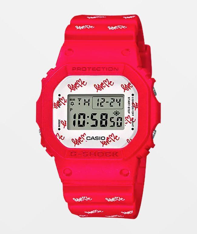 "G-Shock x Curtis Kulig DW5600 ""Love Me"" Digital Watch"
