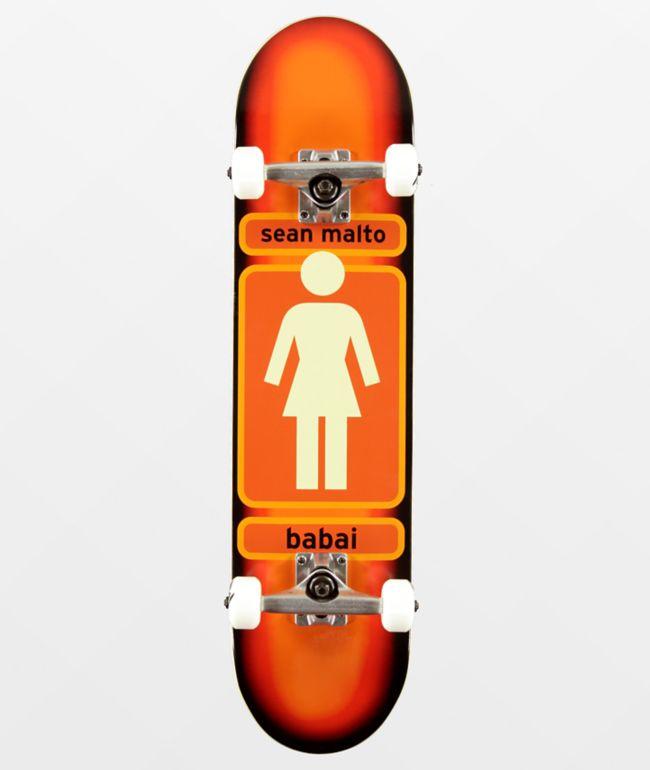 """Girl Malto 93 Til 7.5"""" Skateboard Complete"""
