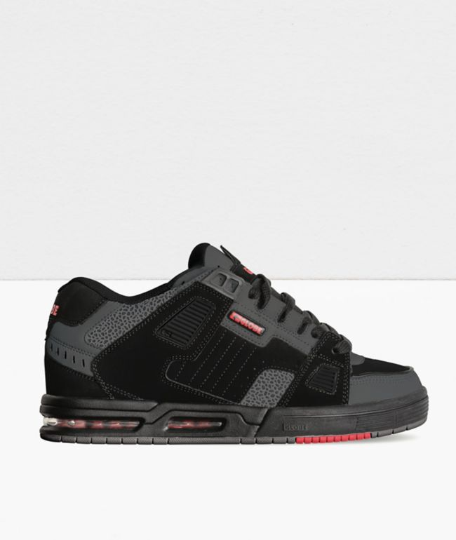 Globe Sabre Black & 3M Pebble Skate Shoes