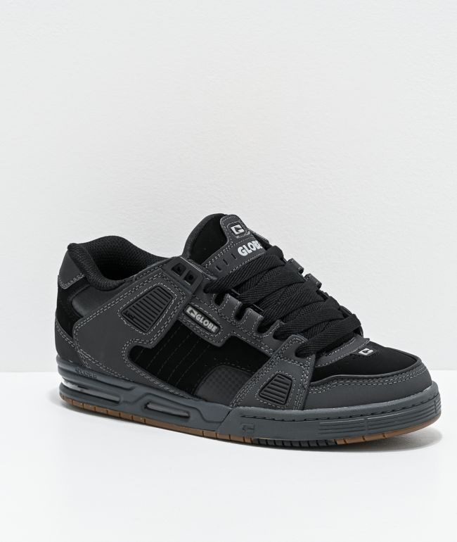 Globe Sabre Dark Shadow & Black Skate Shoes