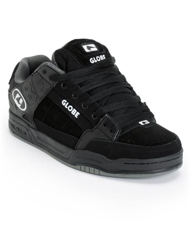 Globe Tilt All Black TPR Skate Shoes