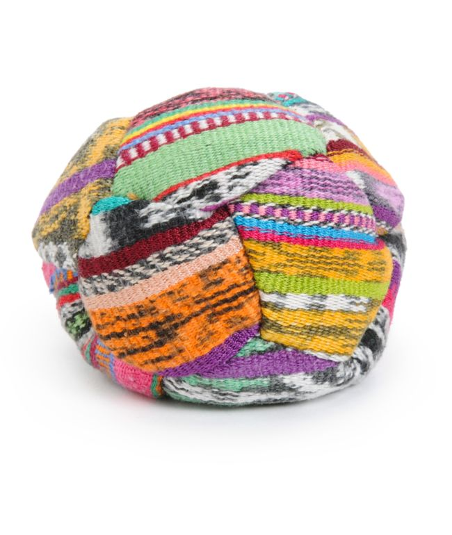 Guatemalart hacky sack de tejido artesanal