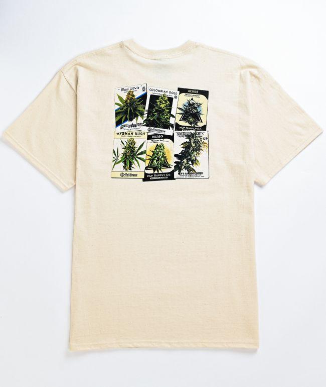 HUF Green Thumb White T-Shirt