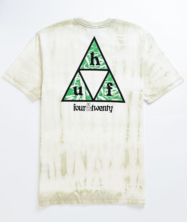 HUF Overgrown Triple Triangle White T-Shirt