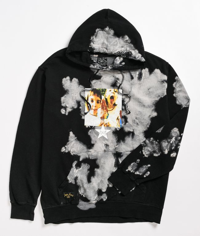HUF x Smashing Pumpkins Cherub Rock Black & White Hoodie