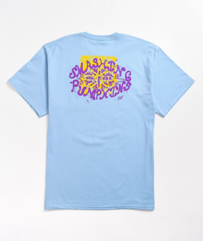 HUF x Smashing Pumpkins Lull Light Blue T-Shirt