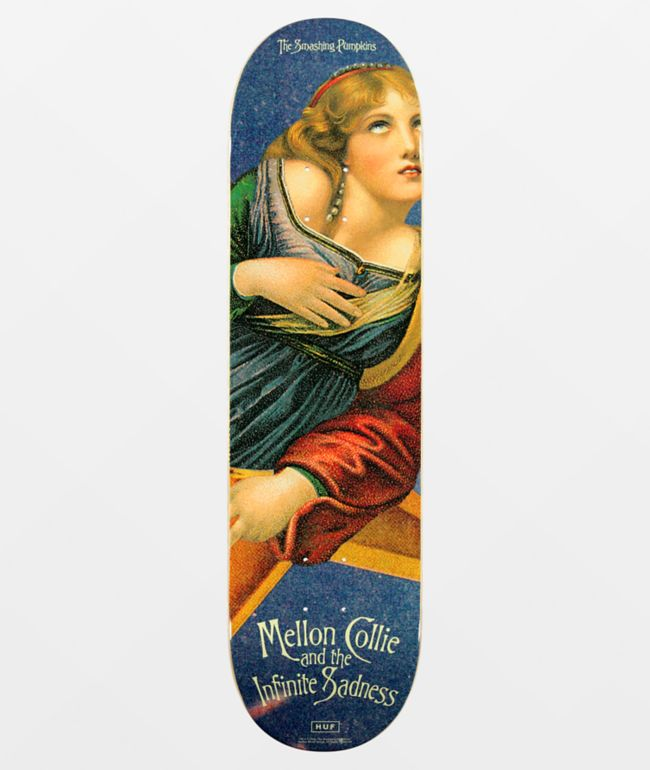"HUF x Smashing Pumpkins Mellon Collie 8.5"" Skateboard Deck"
