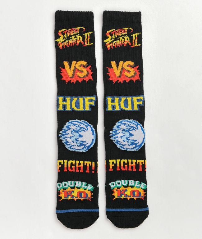 HUF x Street Fighter Graphic Crew Socks